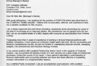 Accounting Amp Finance Cover Letter Samples Resume Genius with Accountant Cover Letter Template