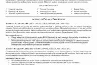 Accounts Payable Manager Resume Elegant 10 Accounts inside Accounts Receivable Collection Letter Template