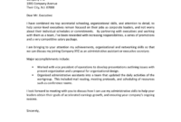 Administrative Assistant Cover Letter Examples - Download with regard to Admin Assistant Cover Letter Template