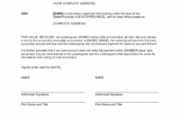 Assignment Of Accounts Receivable With Recourse – Gotilo within Accounts Receivable Collection Letter Template