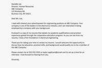 Basic Cover Letter Template For Entry Level Jobs pertaining to Entry Level Job Cover Letter Template
