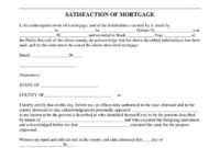 Browse Our Example Of Certificate Of Satisfaction Template in Loan Satisfaction Letter Template