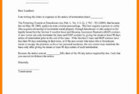 Browse Our Sample Of Giving Notice To Tenants Letter pertaining to Giving Notice To Tenants Letter Template