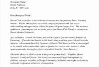Business Collaboration Letter Sample Inspirational 20 for Investor Update Letter Template