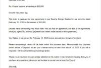 Compensation Letter For Damages | Printable Receipt Template For Compensation Claim Letter Template