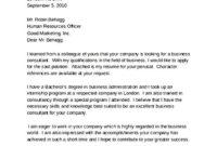Consultant Cover Letter Format – Sample Templates inside Consultant Cover Letter Template