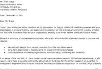 Cover Letter For A Hotel Job – Erkal.jonathandedecker within Hospitality Cover Letter Template