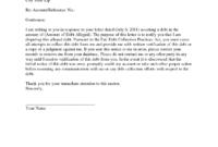 Credit Collection Dispute Letter Template Credit Repair regarding Late Payment Dispute Letter Template