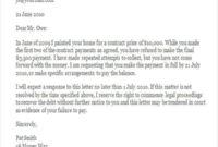 Demand Letter Template Bc – Bgitu inside Demand Letter Template For Money Owed