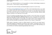 Donation Letter For Mission Trip – Kenna regarding Missionary Support Letter Template