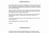 √ 20 Late Payment Explanation Letter For Mortgage pertaining to Late Payment Explanation Letter Template