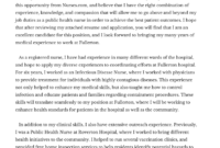 Easy & Expert Nurse Cover Letter Writing   Public Health throughout Health Care Cover Letter Template