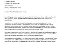 Entry-Level Waiter/Waitress Cover Letter Sample & Tips in Entry Level Job Cover Letter Template