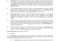 Exclusive Franchise Agreement Sample throughout Franchise Agreement Letter Sample