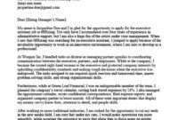 Executive Assistant Cover Letter Sample & Tips with regard to Admin Assistant Cover Letter Template