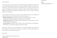 Federal Cover Letter Samples & Guide For Government Jobs for Federal Resume Cover Letter Template