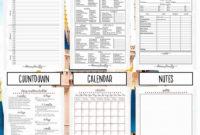 Fillable Itinerary Template Disney   Calendar Template pertaining to School Trip Itinerary Template