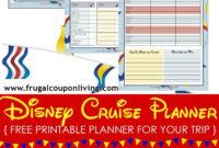 Fillable Itinerary Template Disney   Calendar Template with regard to Disney World Itinerary Template