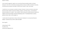 Financial Analyst Cover Letter: Examples & Templates To Fill regarding Financial Analyst Cover Letter Template