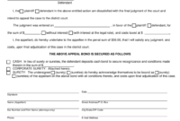 Form Cc9:3 Download Fillable Pdf Or Fill Online Appeal in Bond Claim Letter Template