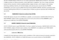 Franchise Agreement Sample 1 - Pdf Format   E-Database for Franchise Agreement Letter Sample
