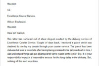 Free 17+ Sample Complaint Letter Templates In Google Docs within Customer Service Complaint Response Letter Template