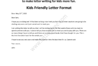 Friendly Letter Format Example Collection | Letter with regard to Friendly Collection Letter Template