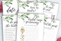 Greenery Editable Itinerary, Bachelorette Itinerary, Hen Within Bachelorette Weekend Itinerary Template