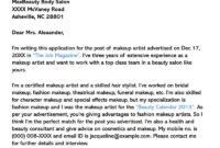 Hair Stylist Cover Letter (10+ Sample Letters & Email throughout Hair Stylist Cover Letter Template