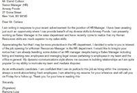 Hr Career Change Cover Letter   Career Change Cover Letter intended for Career Change Cover Letter Template