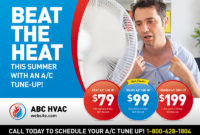 Hvac Advertising Templates | Tutore – Master Of Documents throughout Boiler Service Reminder Letter Template