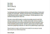 In Kind Donation Thank You Letter Template – Lomer with Donation In Kind Letter Template