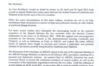 Ki Media: Letter From Indonesia'S Minister Of Foreign regarding Boundary Dispute Letter Template