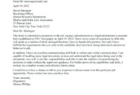 Legal Administrative Assistant Cover Letter Examples - 200 in Legal Assistant Cover Letter Template