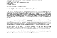 Legal Cease And Desist Letter Collection | Letter Template intended for Cease And Desist Collection Letter Template