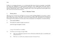 Letter Of Intent To Donate Land With Fee Simple Interest inside Franchise Letter Of Intent Template