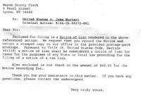 Lien Release Letter Template In 2020   Letter After in Lien Release Letter Template