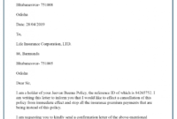 Life-Insurance-Cancellation-Letter – Best Letter Template intended for Insurance Cancellation Letter Template
