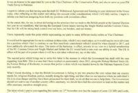 Nanny Resignation Letter Uk - Sample Resignation Letter within Governor Resignation Letter Template