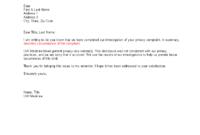 Patient Privacy Complaint Response Letter Template inside Grievance Response Letter Template