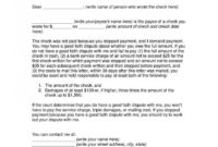Payment Demand Letter Template ~ Addictionary within Demand Of Payment Letter Template
