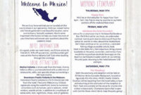 Pin On Example Wedding Template Program for Destination Wedding Weekend Itinerary Template