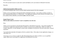 Rejection Letter In Word And Pdf Formats throughout Failed Background Check Letter Template