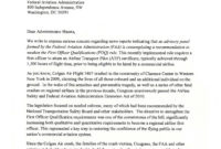 Reps. Higgins, Collins, Slaughter & Reed Lead Coalition regarding Airline Pilot Cover Letter Template