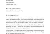 Sample Credit Card Debt Settlement Letter Download pertaining to Debt Settlement Letter Paid In Full Template