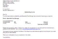 Service Recovery Letter Template - Prahu with Debt Recovery Letter Before Action Template