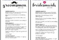 The Botts-Net: My Diy Wedding Printables | Wedding inside Wedding Party Itinerary Template