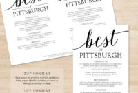 Things To Do Wedding Itinerary Template / Destination in Destination Wedding Weekend Itinerary Template