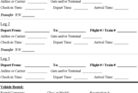 Travel Itinerary Template – Download Microsoft Word inside Travel Agent Itinerary Template
