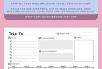 Travel Itinerary Template Family Travel Planner Dayday for Vacation Itinerary Planner Template